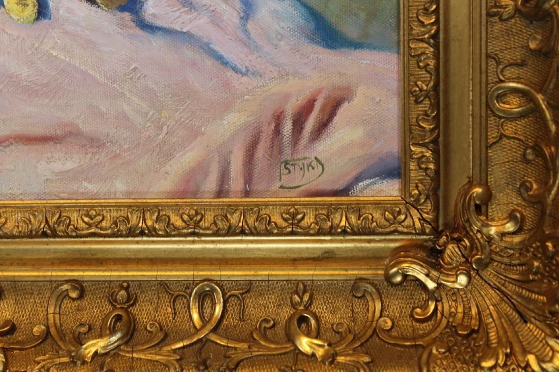 """""""Oriental Beauty"""" Adam Styka (NY, Polish, 1890 - 1951) - 4"""