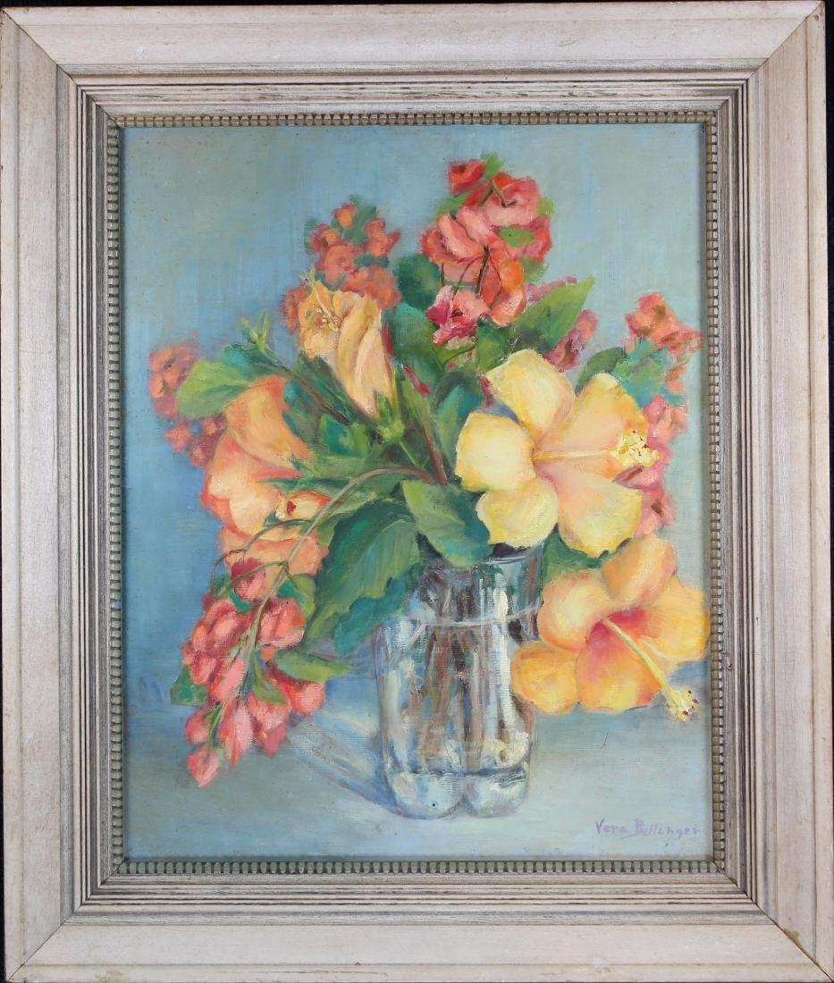 Bellinger, 20th C. Still Life Painting