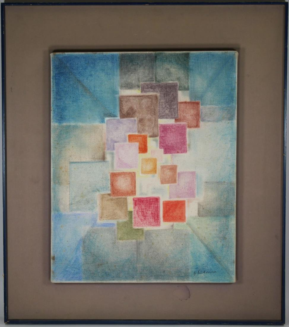 Signed, 20th C. Abstract Composition