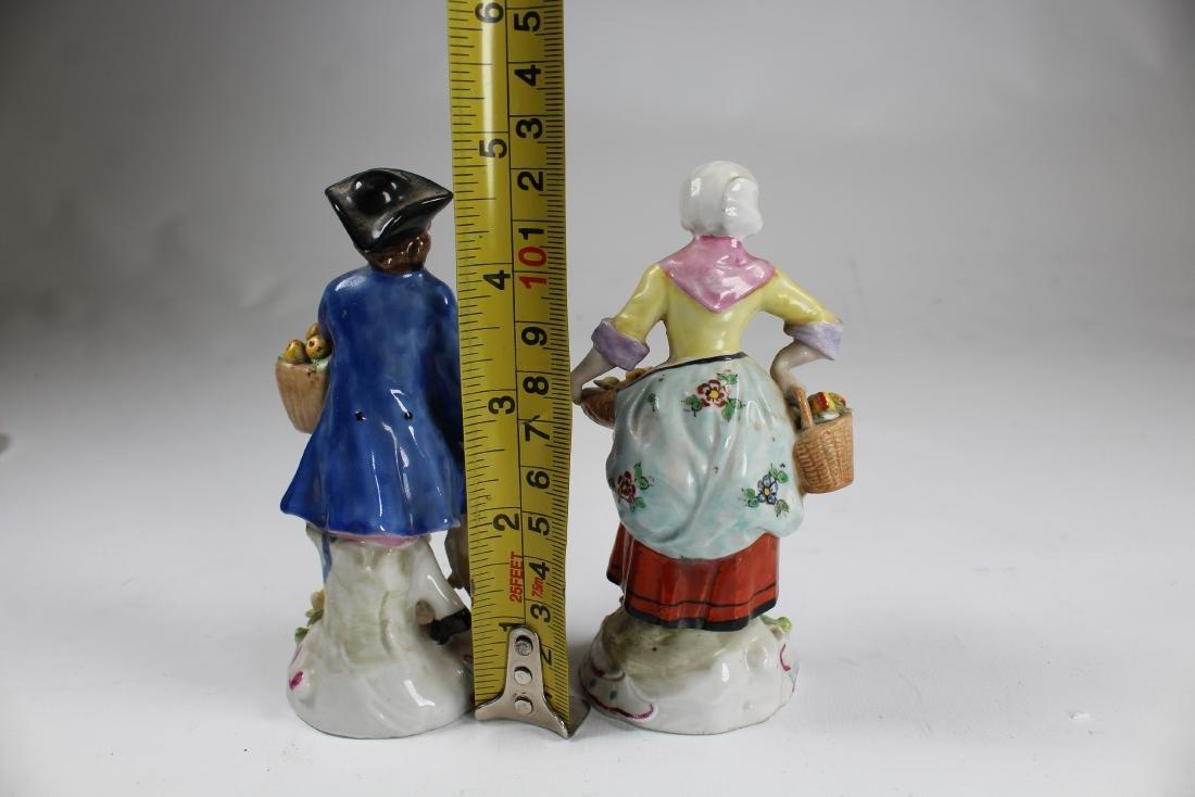 (2) German Sitzendor Porcelain Figurines - 2