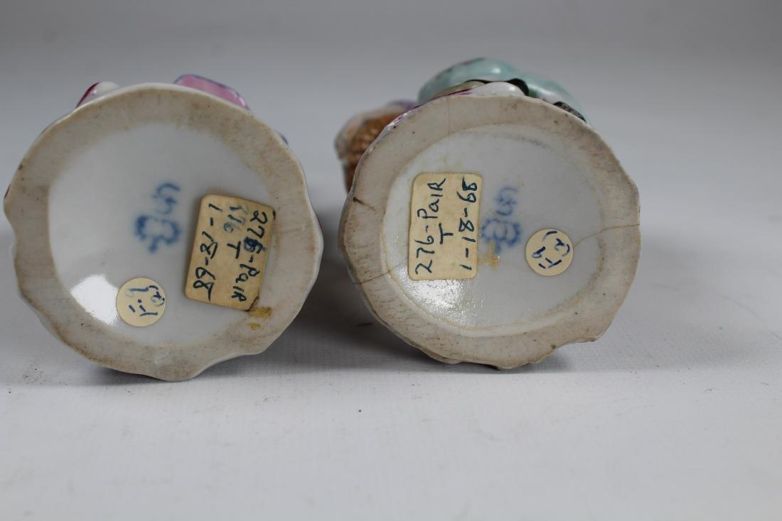 (2) German Sitzendor Porcelain Figurines - 3