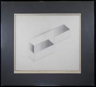 James Reineking American B 1937 GraphitePaper