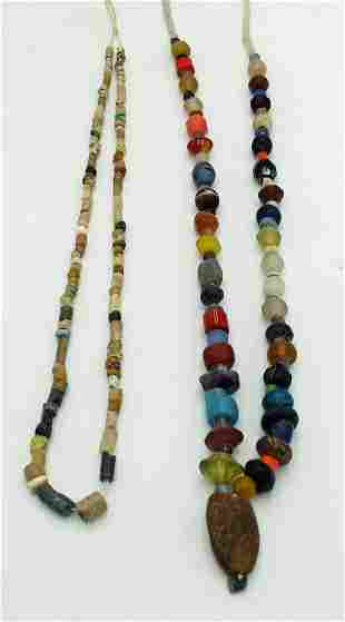 2 Strands of Ancient Roman Indus Valley Beads