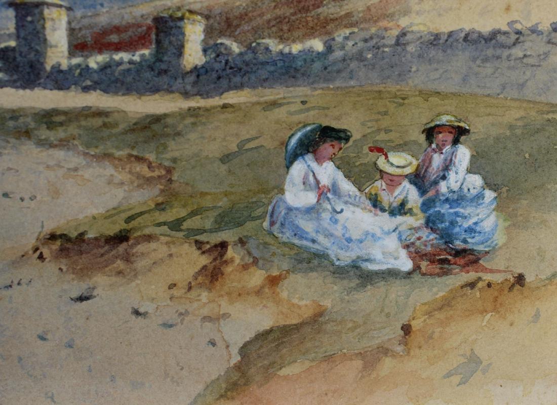 American School, Coastal New England Watercolor - 2