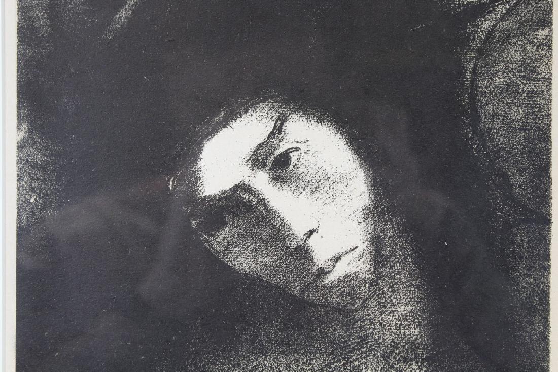 Odilon Redon (1840-1916) Wood Engraving - 2