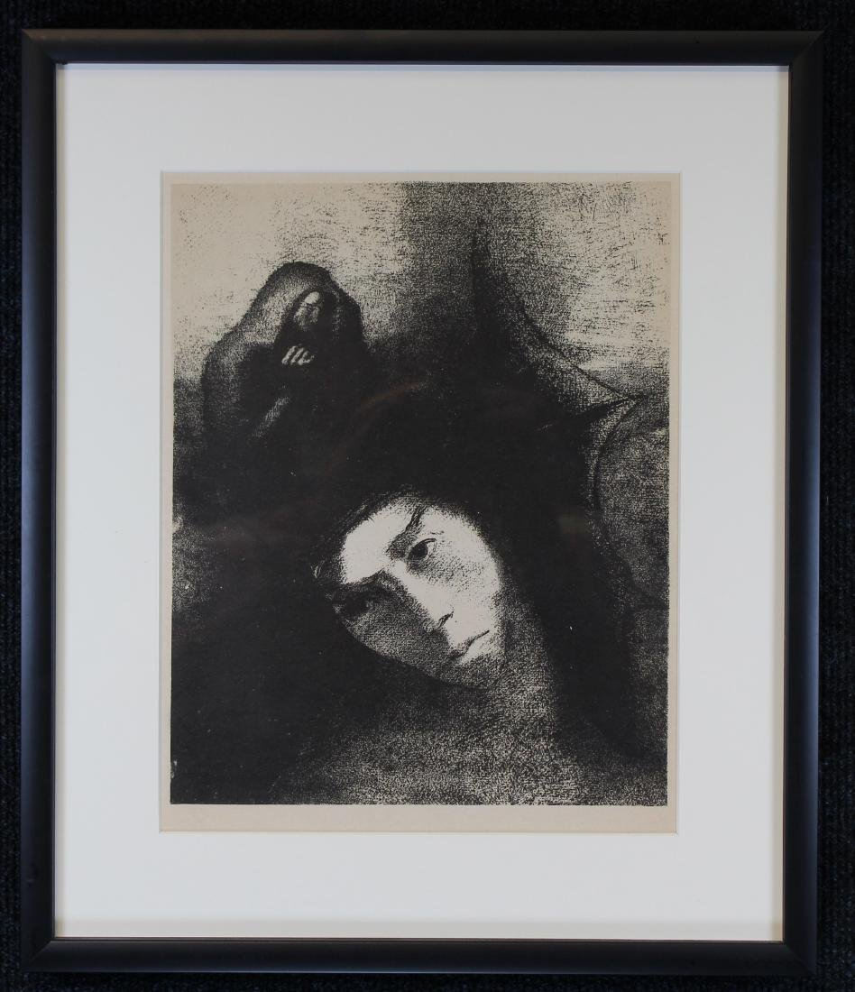 Odilon Redon (1840-1916) Wood Engraving - 3