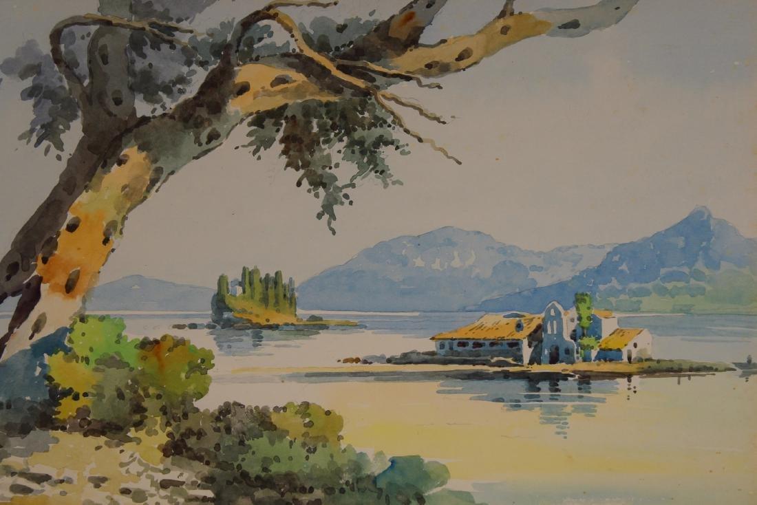 Russian School, Signed 20th C. Coastal Painting - 2