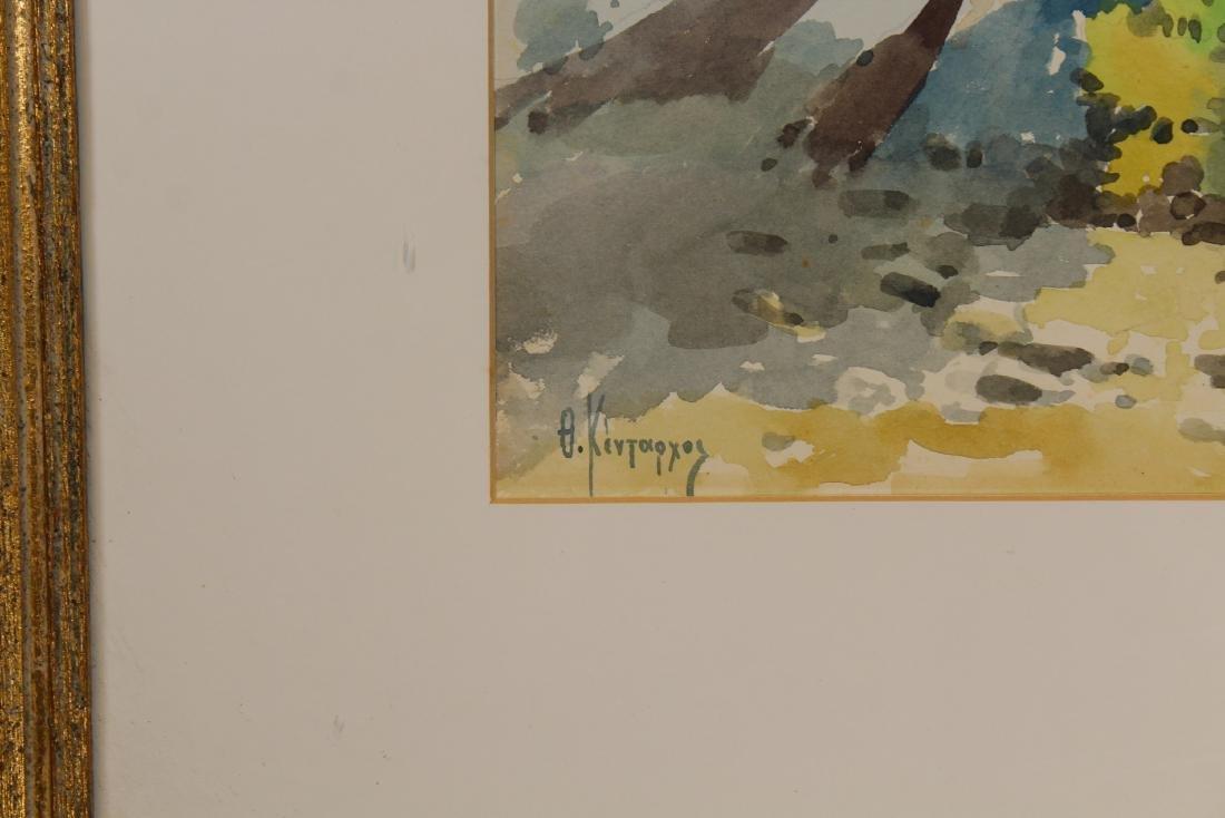 Russian School, Signed 20th C. Coastal Painting - 3