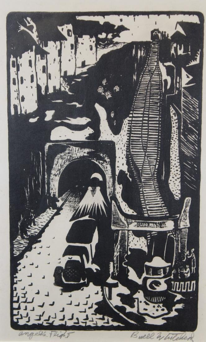 "Buell Whitehead (FL 1919 - 1993) ""Angel's Flight"" - 2"