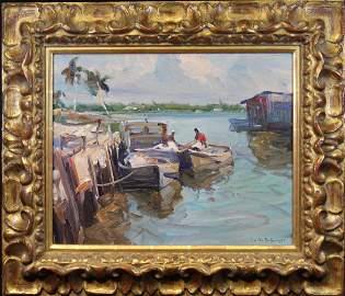 Emile Gruppe (1896 - 1978) Naples Florida