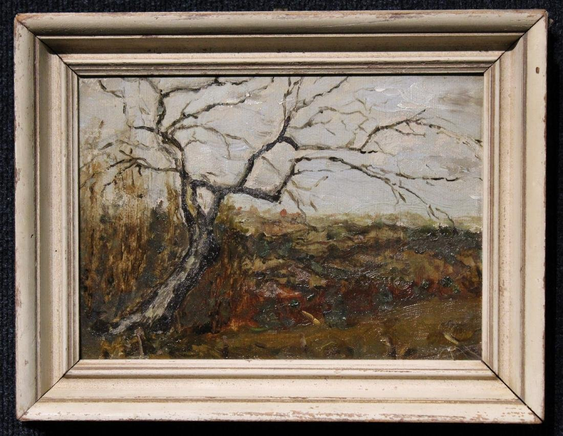 American School, 20th C. Landscape Painting