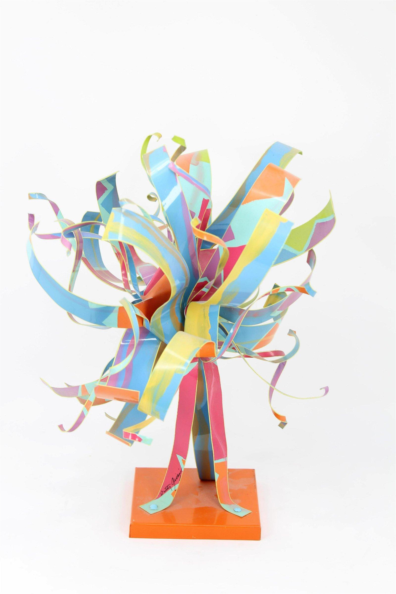 Dorothy Gillespie (1920 - 2012) Metal Sculpture