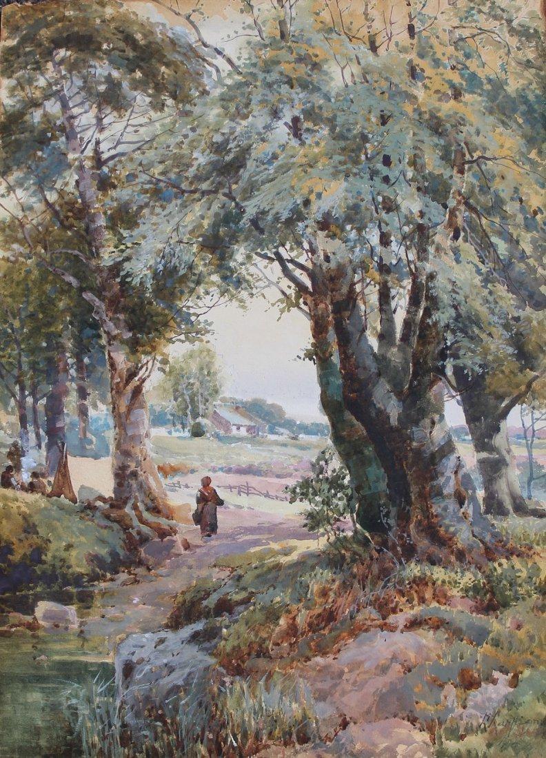 Henri-Joseph Harpignies (France, 1819 - 1916)