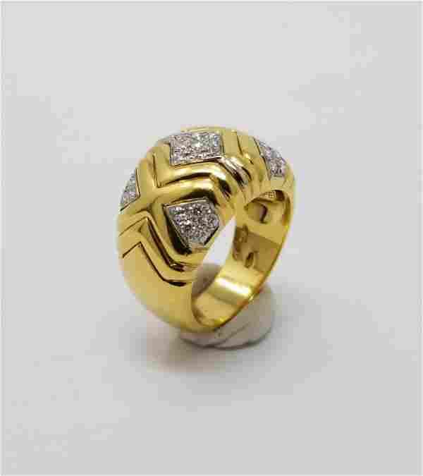 Wempe 18K Gold & Diamond Ring