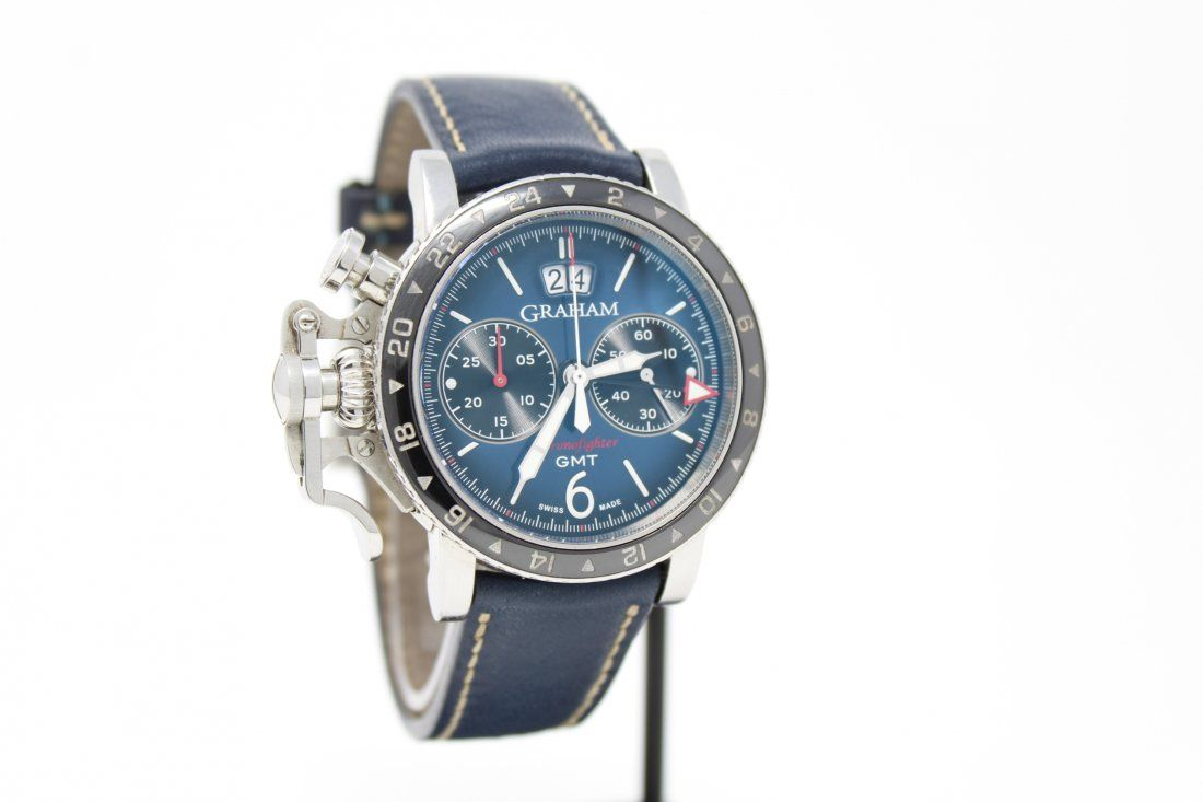 GRAHAM - Chronofighter Vintage GMT Watch