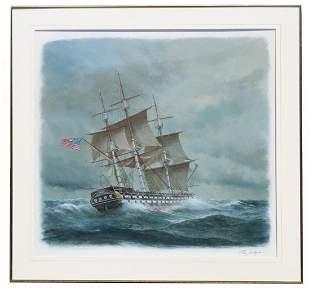 "Charles J Lundgren (1911-1988) ""Ohio/U.S. Naval Ships"""