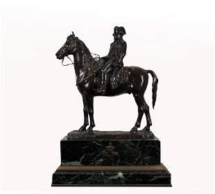 Emile Pinedo (1840 - 1916) Napoleon on Horseback