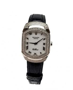 18K Cellini Cellissima Diamond Ladies Rolex