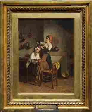 Theophile Emmanuel Duverger (France, 1821 - 1886)