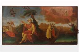 19th C Russian Icon The Prophet Elijah