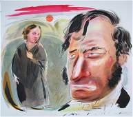 """Ian Pollock (B. 1950) """"Tess of the D'Urbervilles"""""""