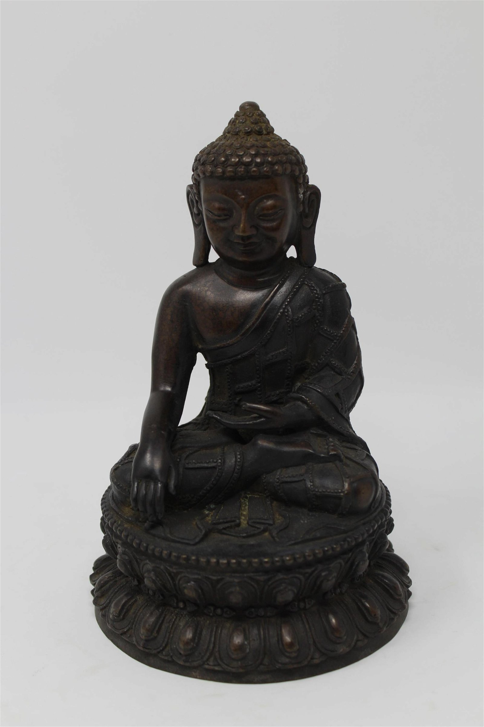 Bronze Seated Southeast Asian Figure