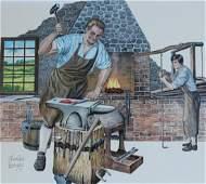 Charles Berger 1922  2012 Blacksmith
