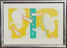 Markus Lupertz (Born 1941) Original Abstract