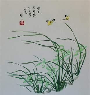 Ren Yu B 1945 Orchid