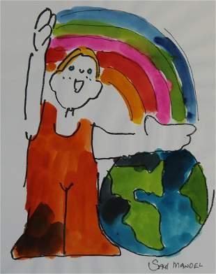 Saul Mandel 1926 2011 Earth Day Clean Air
