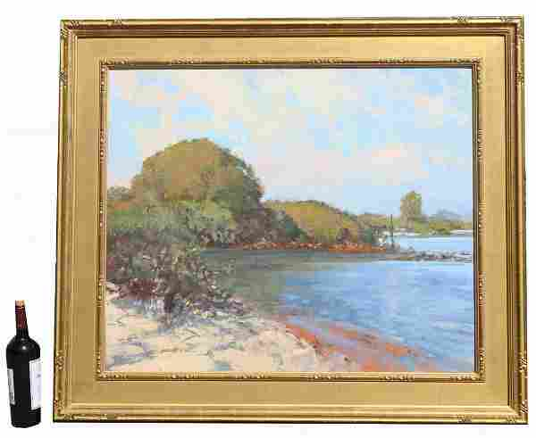 "Gene Costanza, (B. 1954) ""Phillippi Creek Morning"""