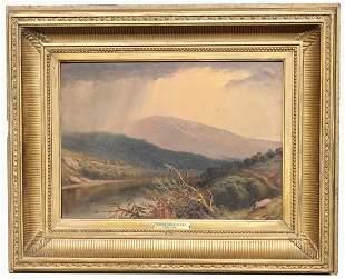Hudson River School, 19th C. Landscape Painting