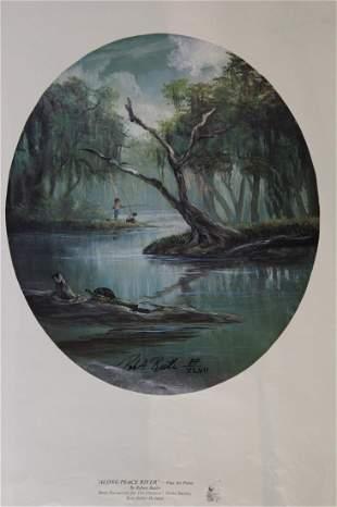 Along Peace River Florida Robert Butler