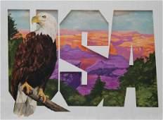 """Tom Lydon (B. 1944) """"Eagle"""""""