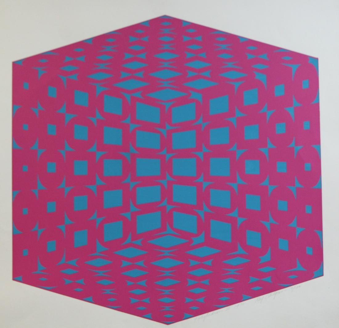 "Roy Ahlgren (1927 - 2011) ""Polyhedron II"""