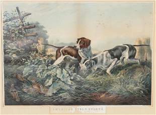 After Arthur Fitzwilliam Tait 18191905 Litho