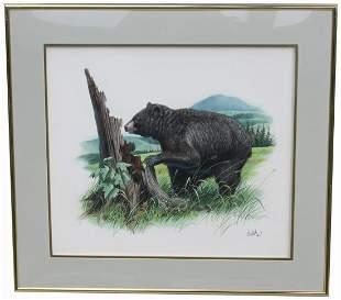 Don Balke North Carolina B 1933 Black Bear
