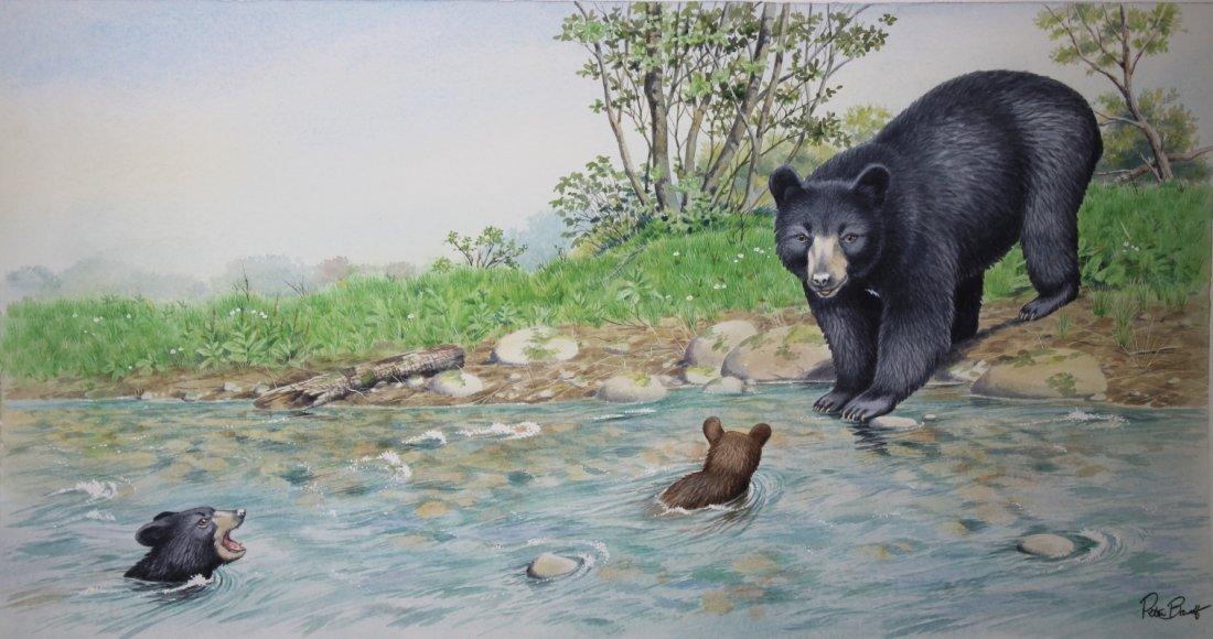 """Peter Barrett (British, B. 1935) """"Baby Bear"""""""