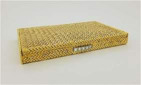 Chaumet, 18K Gold, Platinum & Diamond Compact