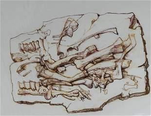 Bryan Kneale B 1930 Dinosaur Bones