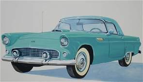 "Robert Seabeck (B. 1945) ""1955 Thunderbird"""