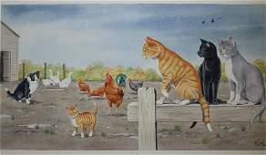 Peter Barrett (British, B. 1935) Watercolor