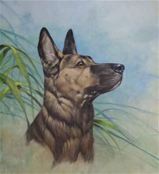 Roger Cruwys B 1938 Officer Reza Police Dog