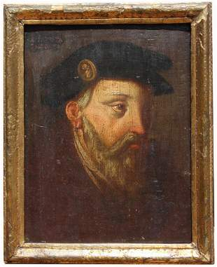 17th Century Portrait of a Gentleman, Baleonus