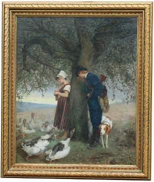 Alphonse Gaudefroy (France, 1845 - 1936)