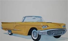 "Robert Seabeck (B. 1945) ""1958 Thunderbird"""