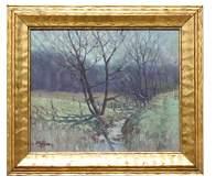 F. Thomas (20th C.) Landscape