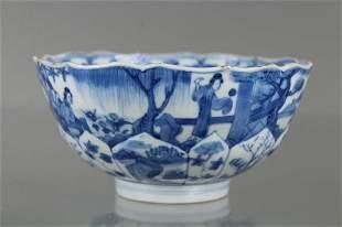 18th C. Chinese Blue/White Porcelain Bowl