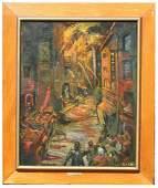 Dahli Sterne NY Born 1901 Fighting a Fire