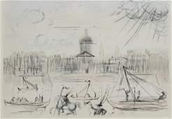 """Dali """"Academie des Beaux Arts 1975"""" EA"""